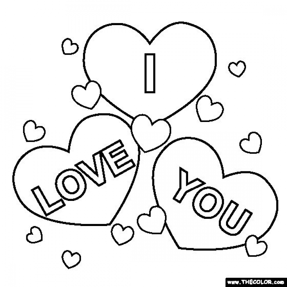 Get This Free I Love You Coloring Pages for Kids yy6l0 !