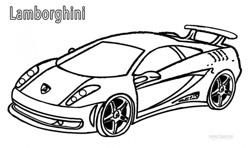 20+ Free Printable Lamborghini Coloring Pages ...