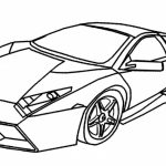 20 Free Printable Lamborghini Coloring Pages