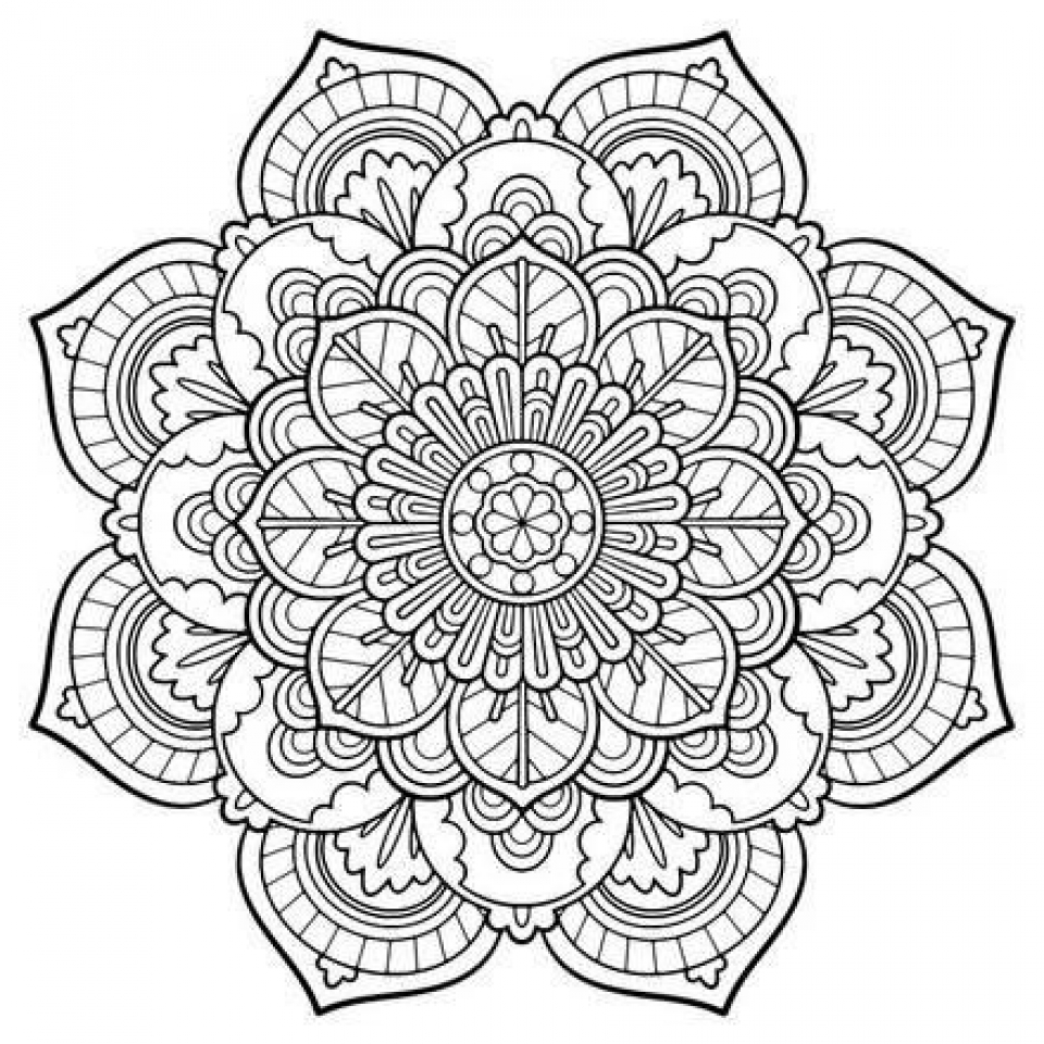 Get This Free Mandala Coloring
