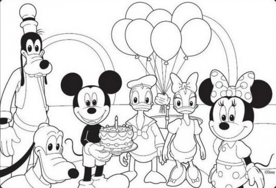 Get this free mickey coloring pages to print 88595 for Free mickey coloring pages