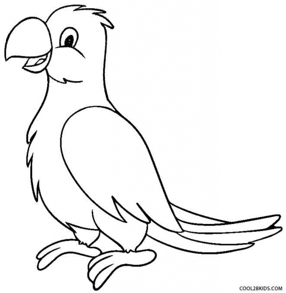 Get This Free Parrot Coloring Pages to Print 92377 !
