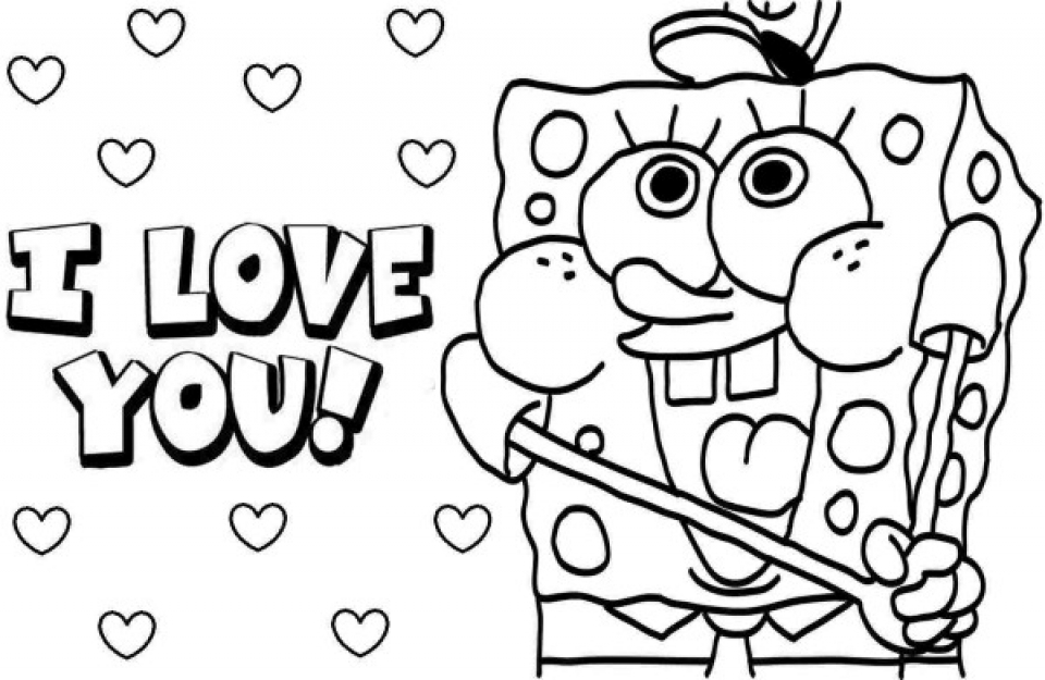 Get This Free Preschool I Love You Coloring Pages to Print ...