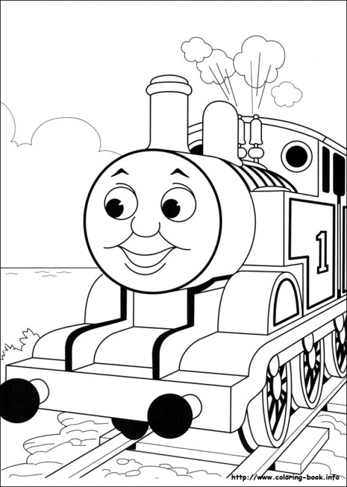 free preschool thomas and friends coloring pages to print oloev - Friendship Coloring Pages For Preschool