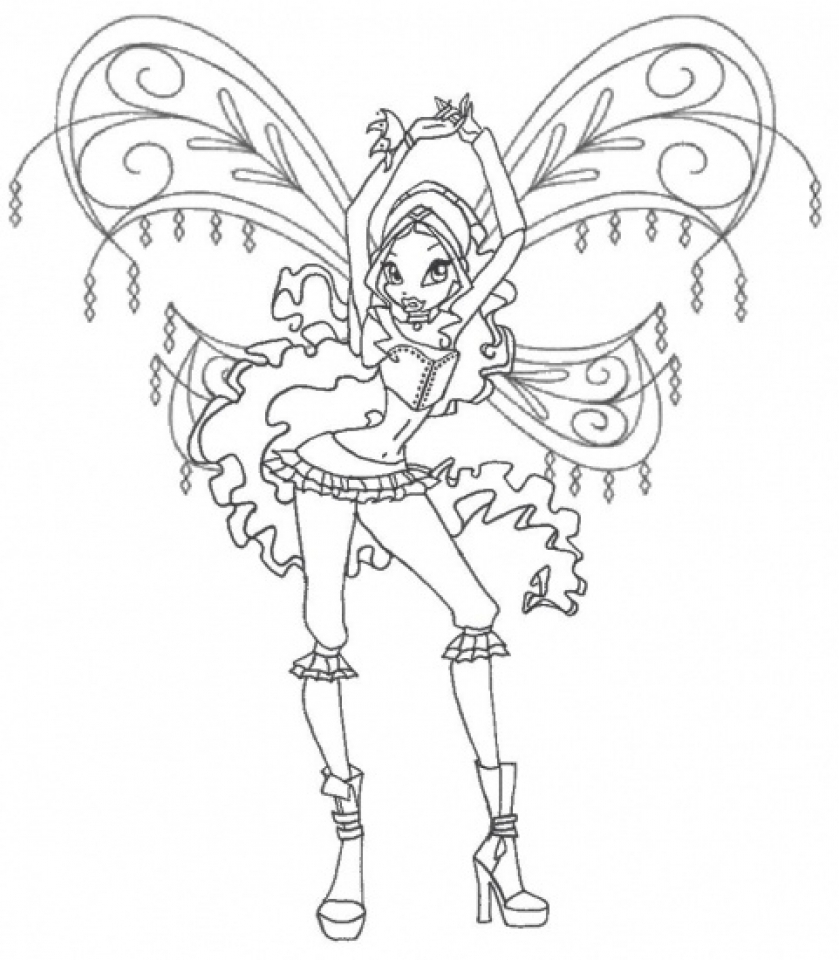 Free coloring pages wonder woman - Free Preschool Winx Club Coloring Pages To Print P1ivq