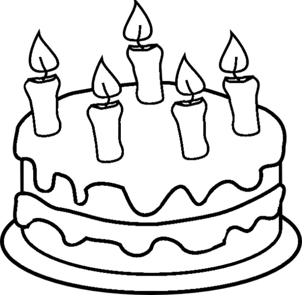 get this free printable cake coloring pages for kids 5gzkd