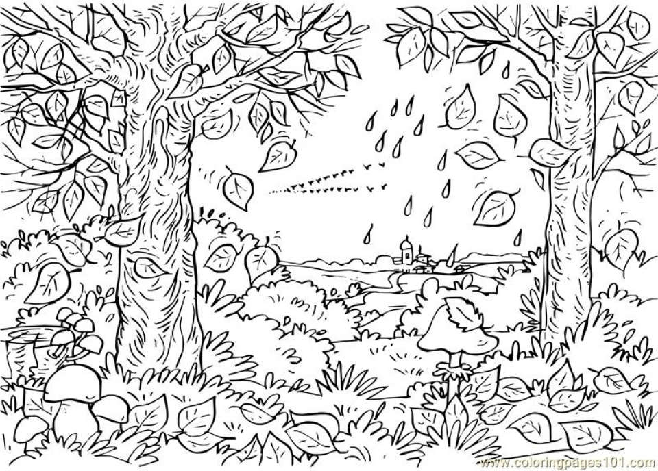 Get This Free Simple Nature Coloring Pages for Children af8vj !