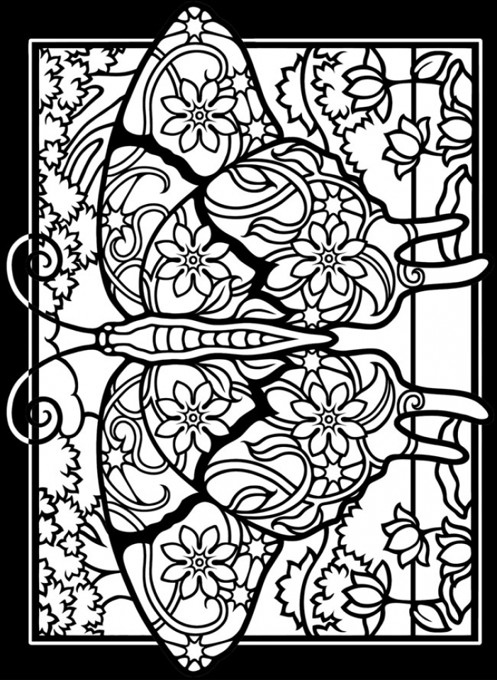 free stained glass coloring pages 17248 - Stained Glass Coloring Pages