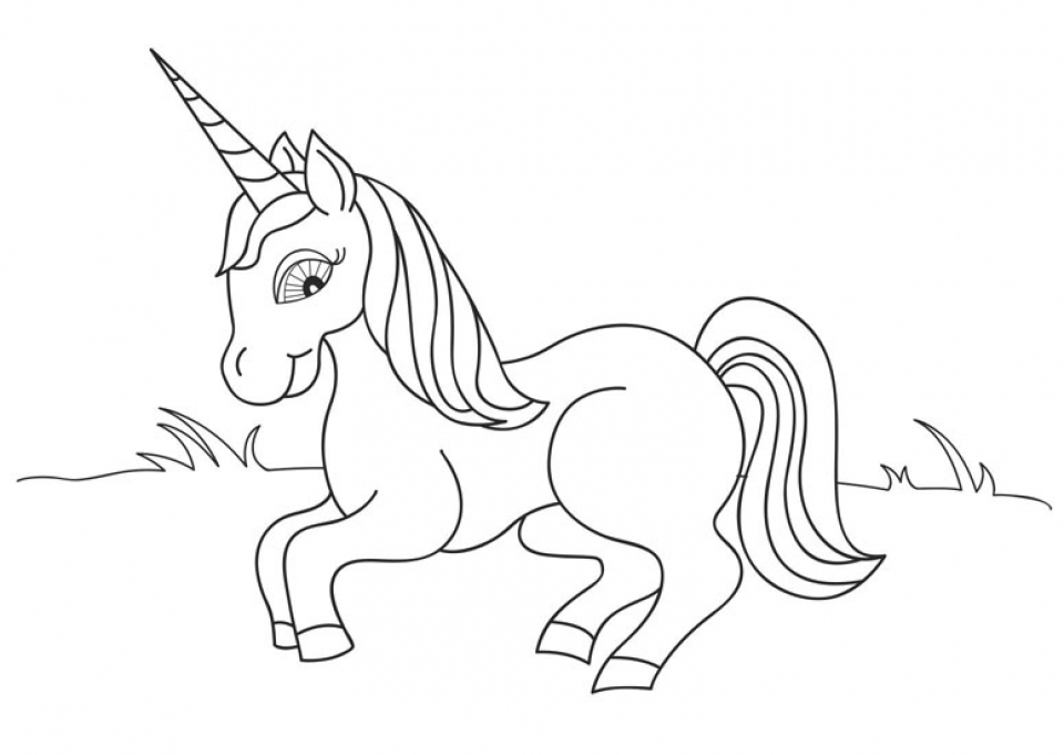 Get This Free Unicorn Coloring Pages to Print 12490