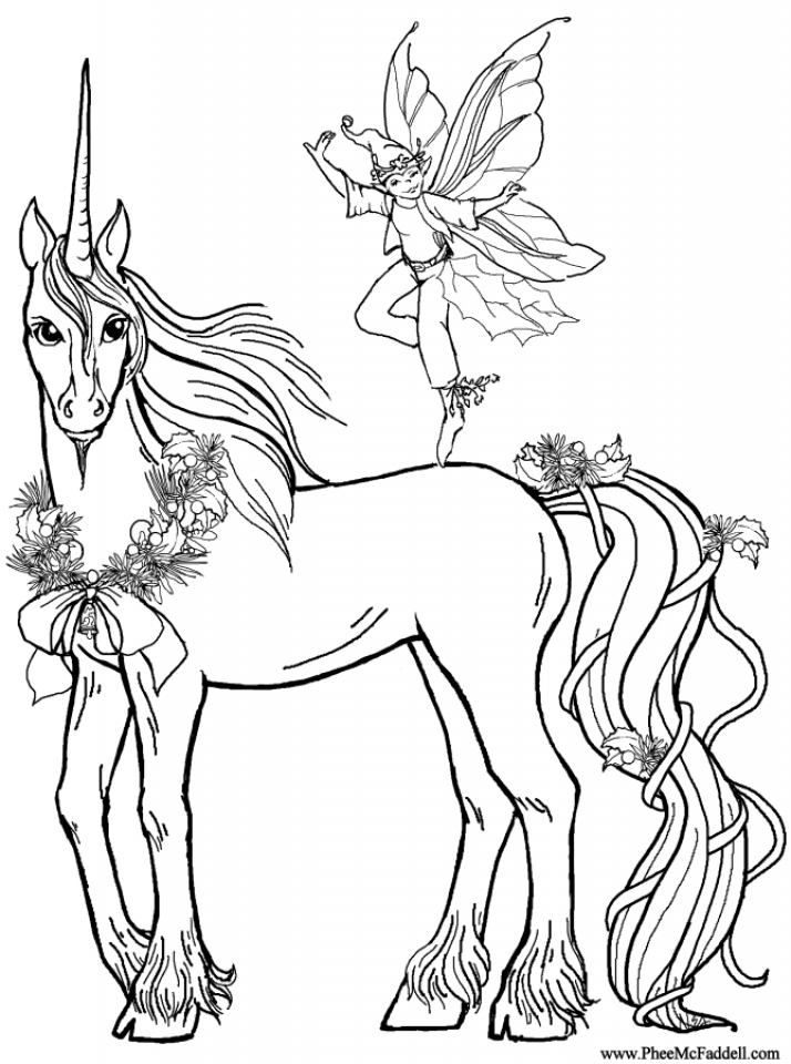 Get This Free Unicorn Coloring Pages to Print 16629