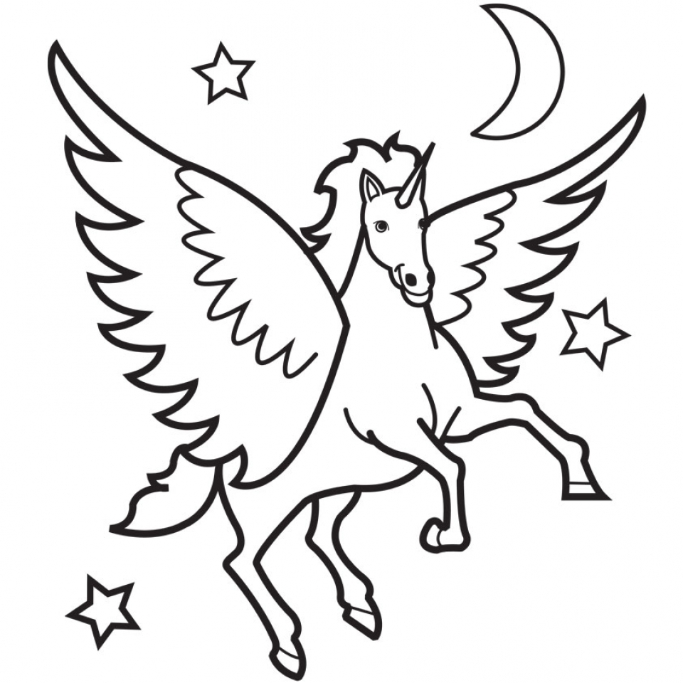 20 free printable unicorn coloring pages everfreecoloring com