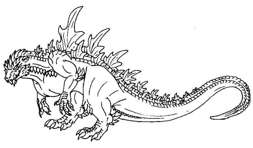 get this godzilla coloring pages to print for kids kifps