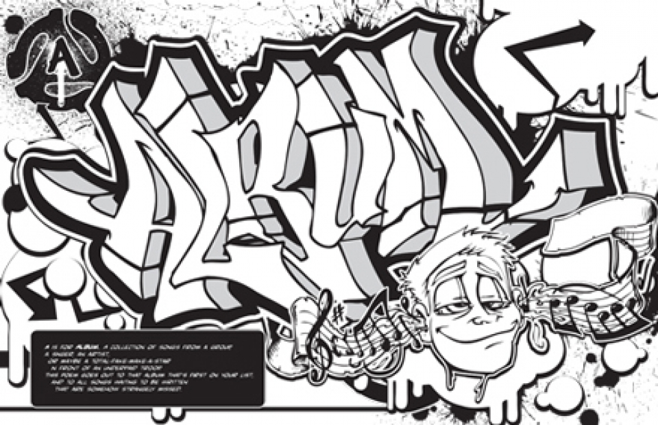 Get This Graffiti Coloring Pages Free Printable 42032 !