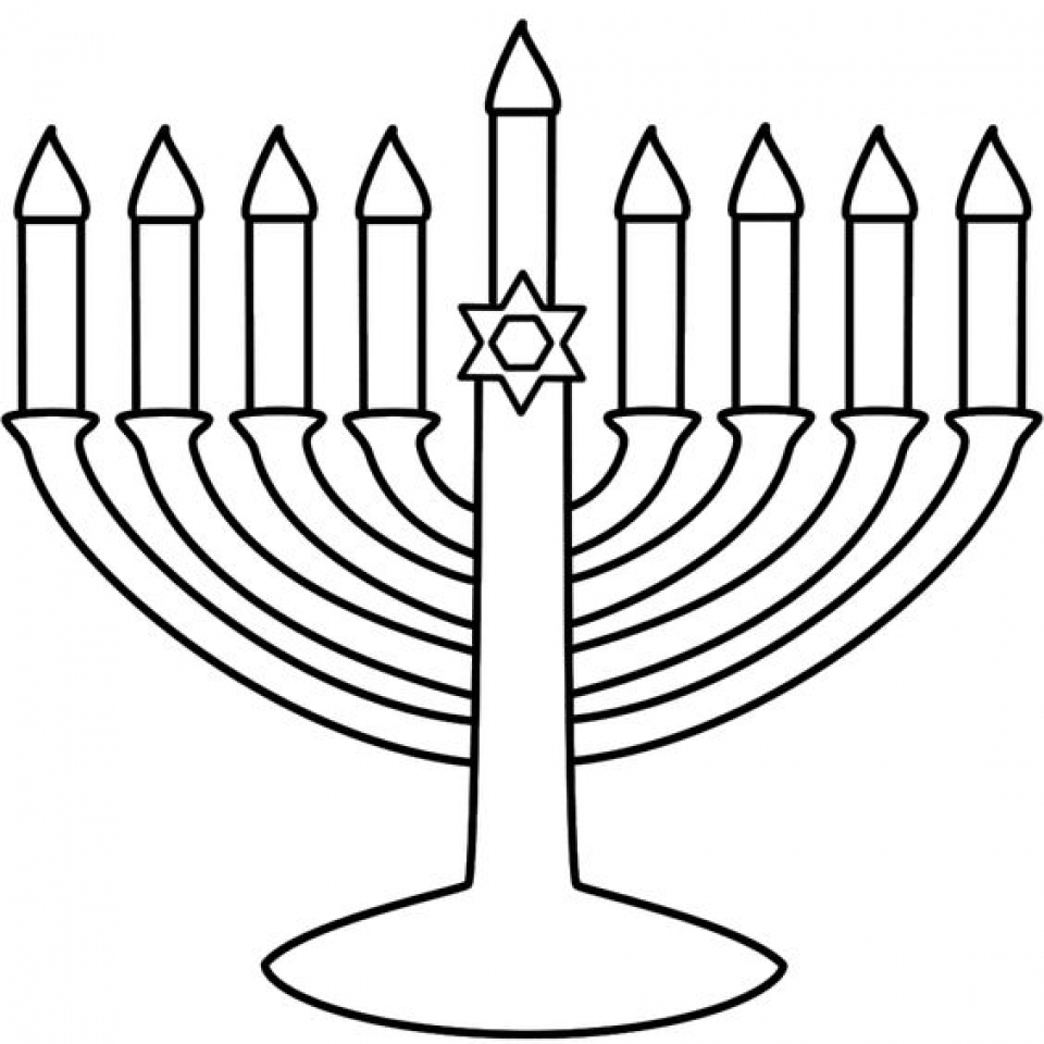 free hanukkah coloring pages - get this hanukkah coloring pages to print for kids kifps