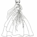 Winx Club Coloring Pages Image Of To Print For Kids Uan64