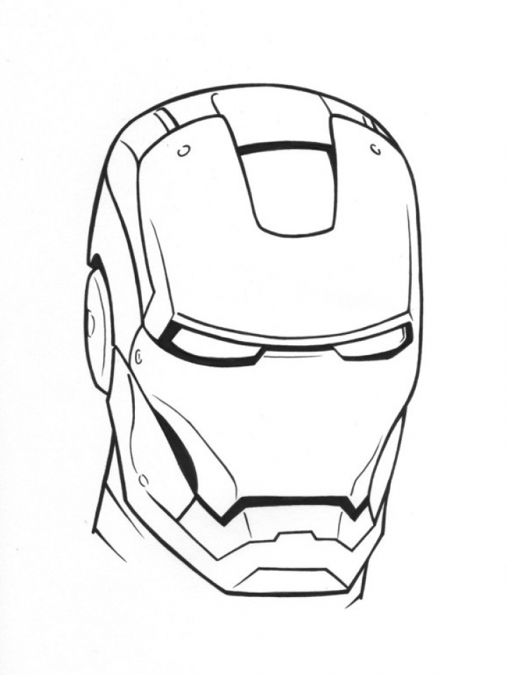 ironman coloring pages free printable 9548 - Iron Man Coloring Page