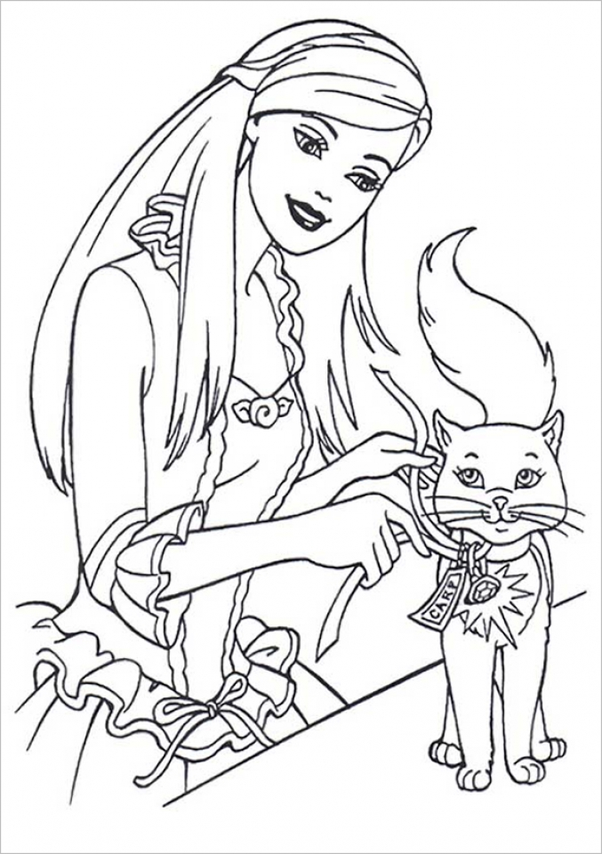 Get This Kids Printable Barbie Coloring Pages Free Online p2s2s