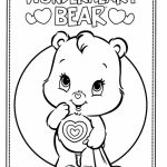 Kids Printable Care Bear Coloring Pages Free Online P2s2s