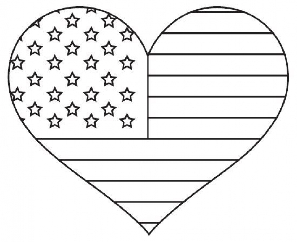 online flag coloring pages - photo#8