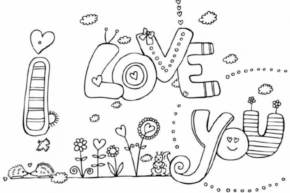 Get this kids 39 printable i love you coloring pages free for I love you coloring pages