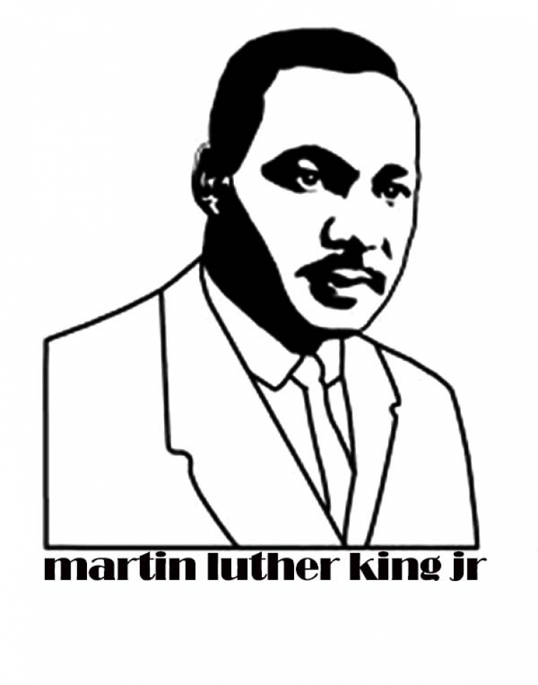 photo regarding Martin Luther King Jr Coloring Pages Printable known as Get hold of This Little ones Printable Martin Luther King Jr Coloring
