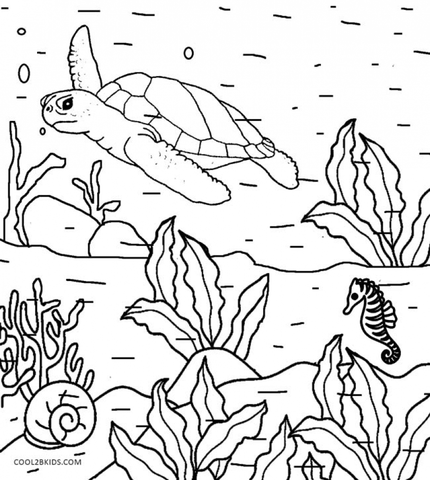 98 Nature Coloring Pages Online