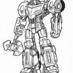 20+ Free Printable Optimus Prime Coloring Page - EverFreeColoring.com
