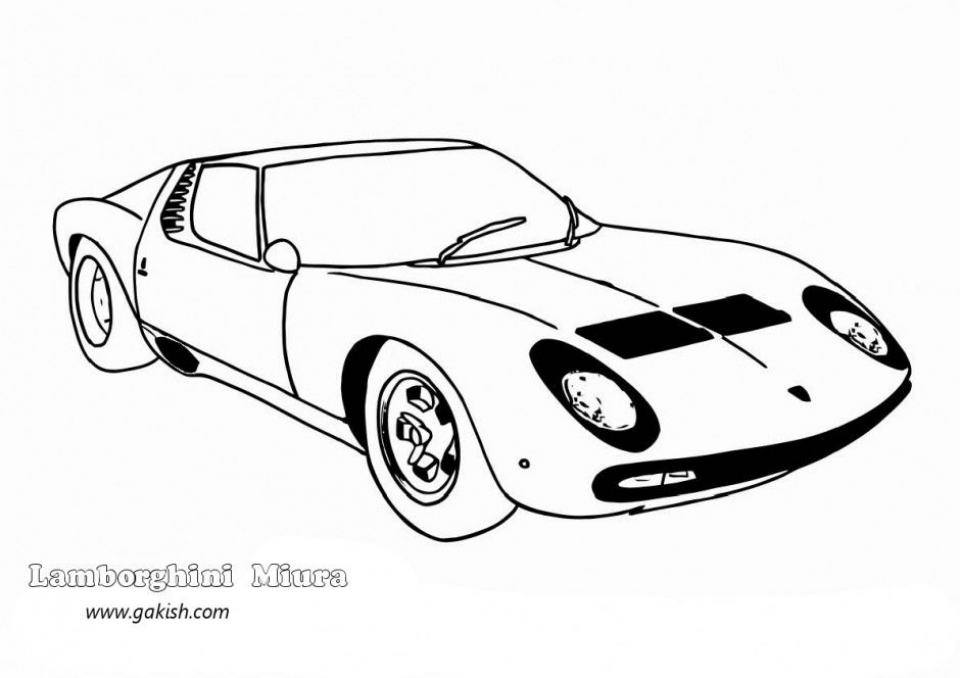 Get this lamborghini coloring pages free printable 9548 for Lambo coloring pages