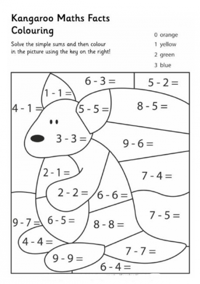 Affordable Math Coloring Pages To Print For Kids Aiwkr
