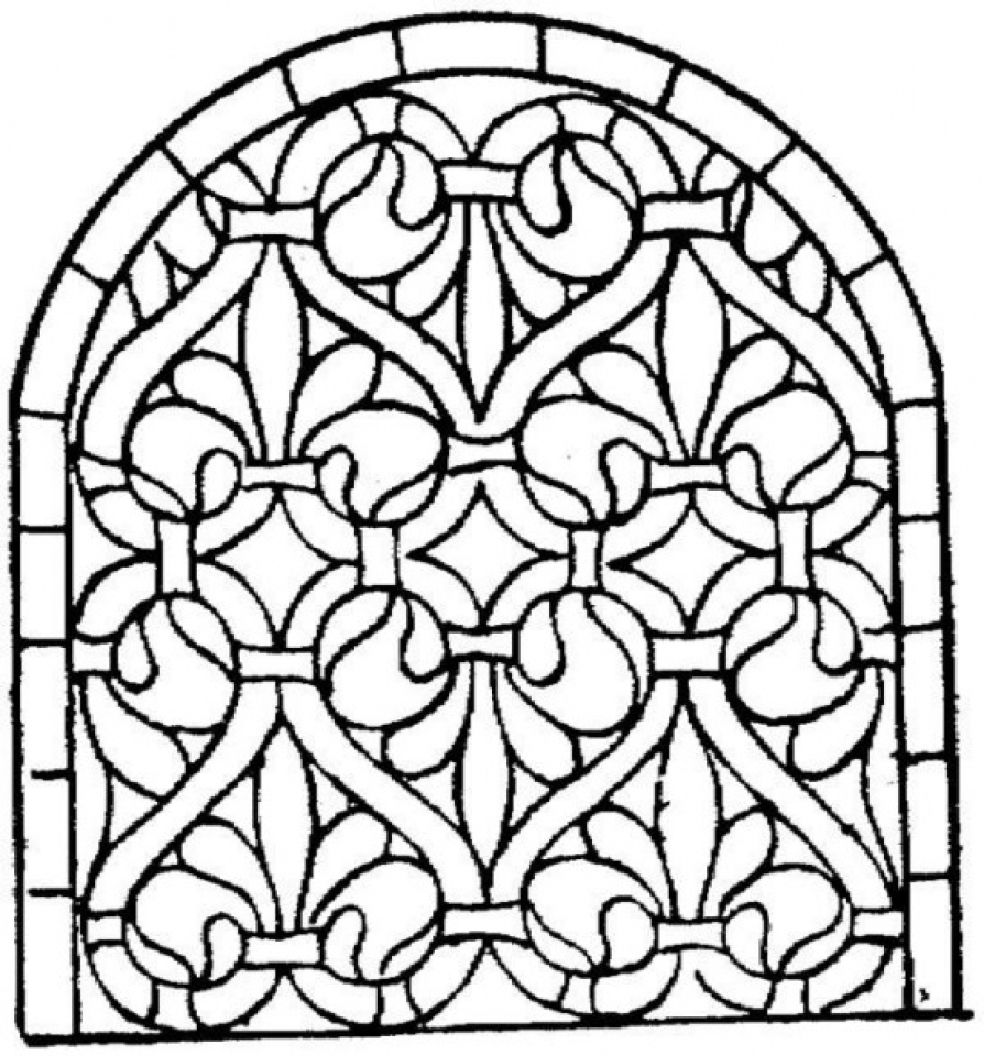 mosaic coloring pages free printable 13110 - Mosaic Coloring Pages