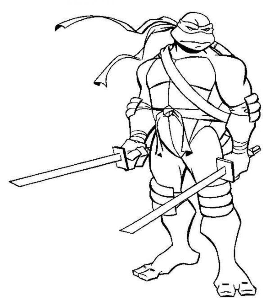 get this ninja turtle coloring page free printable 42032