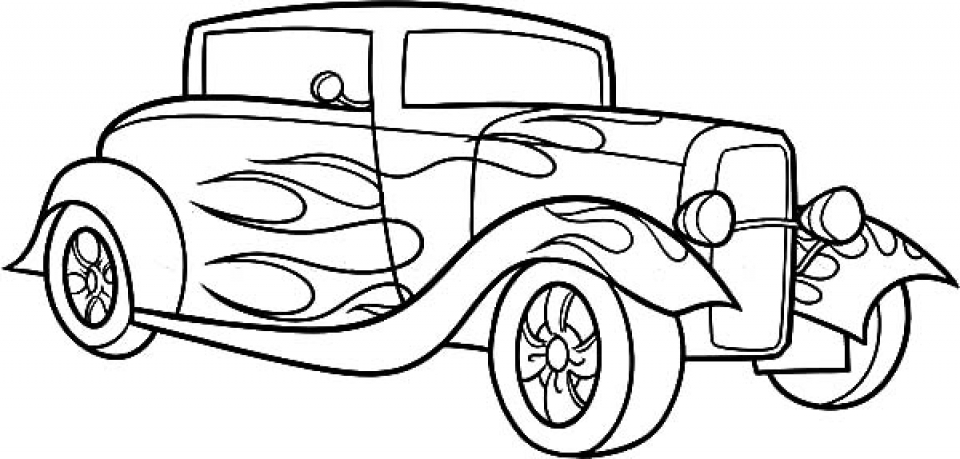 Advanced Car Coloring Pages : Get this free printable doodle art advanced coloring pages