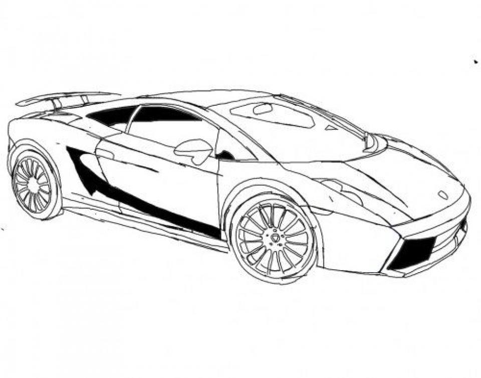 Get This Online Lamborghini Coloring Pages 78742