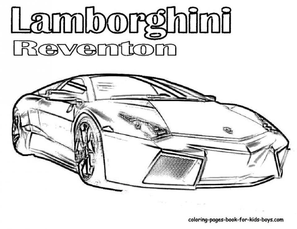 Get This Online Lamborghini Coloring Pages 88275 !