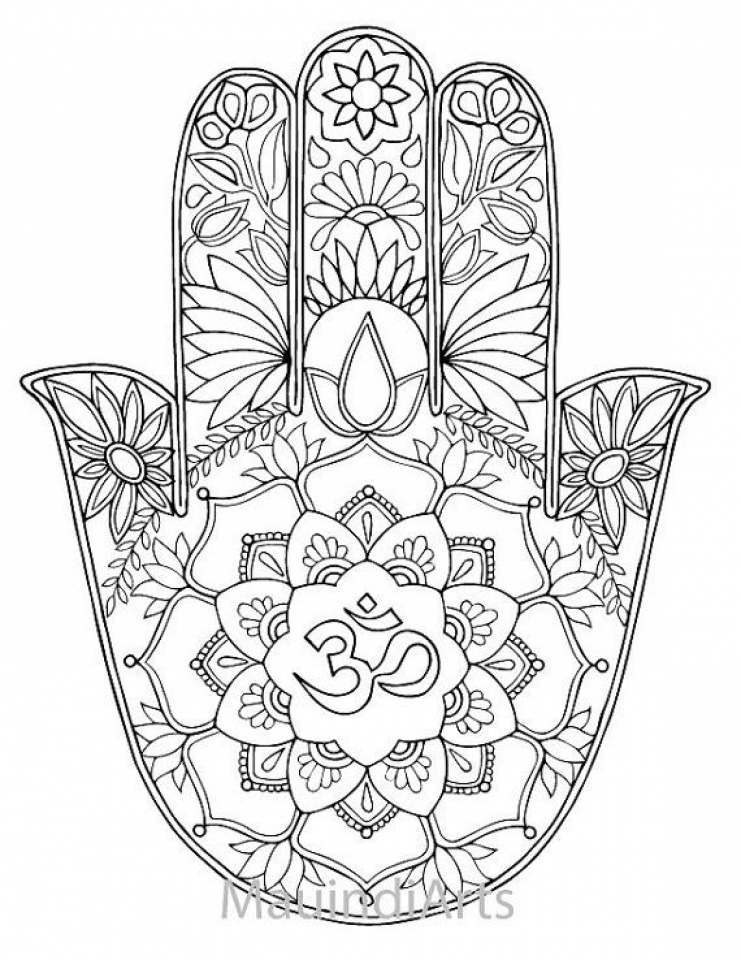 Get This Online Mandala Coloring Pages For Adults 34136