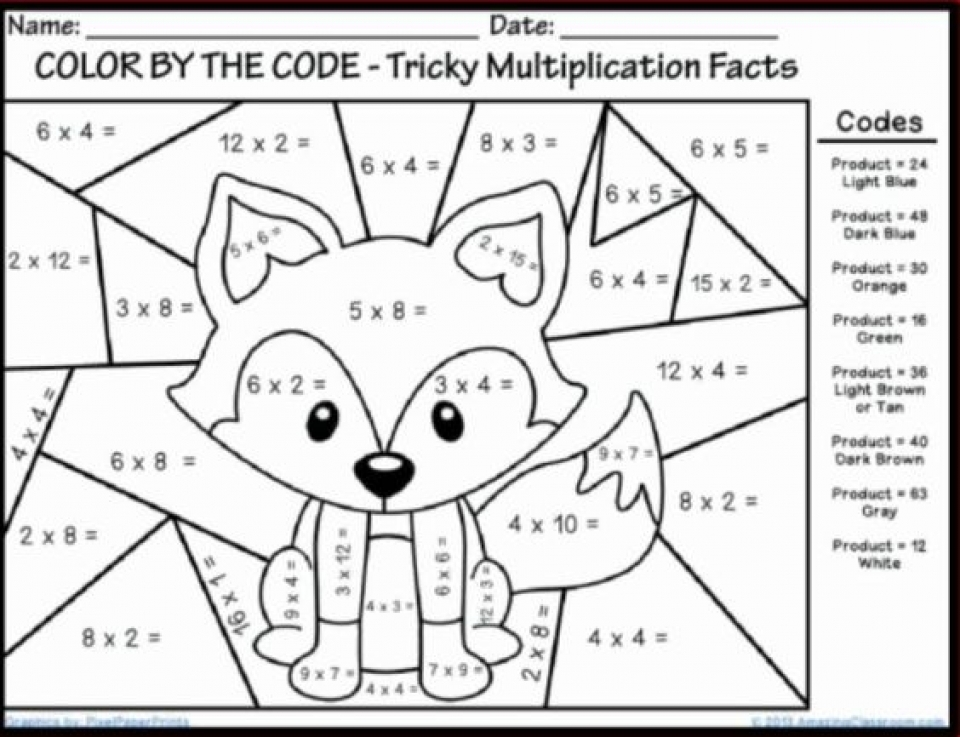 Get This Online Math Coloring Pages for Kids sz5em !
