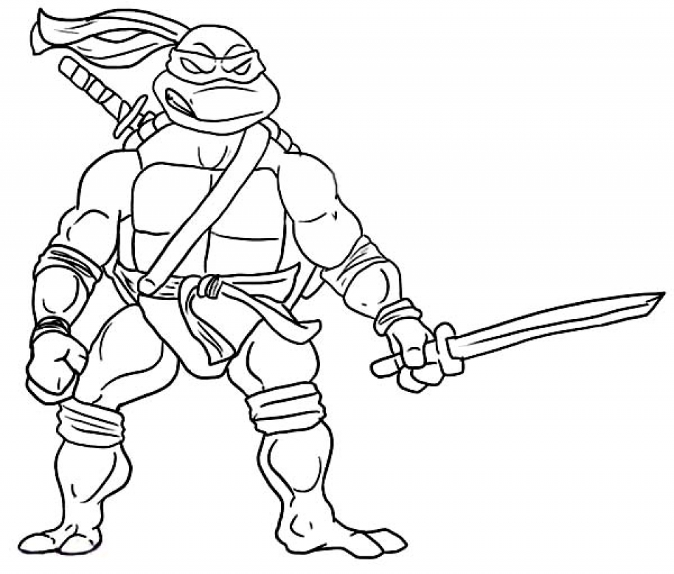 Get this online ninja turtle coloring page 83723 for Ninja turtle coloring book pages
