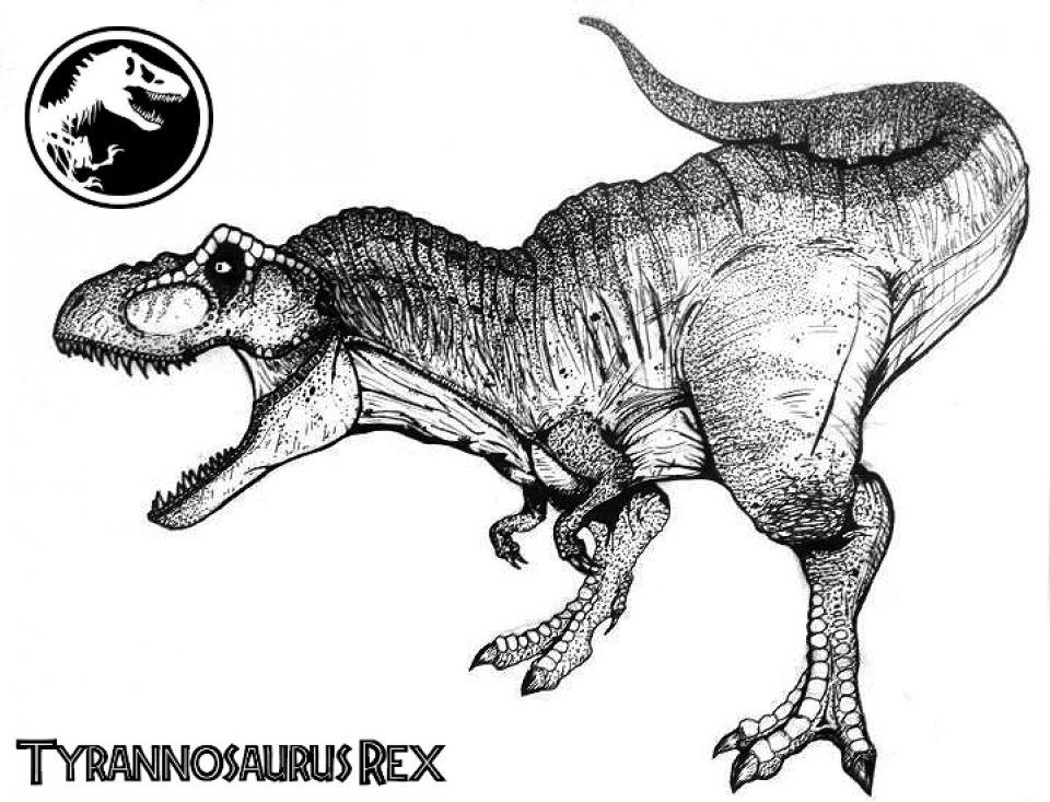 Get this online t rex coloring pages 61800 for Free t rex dinosaur coloring pages