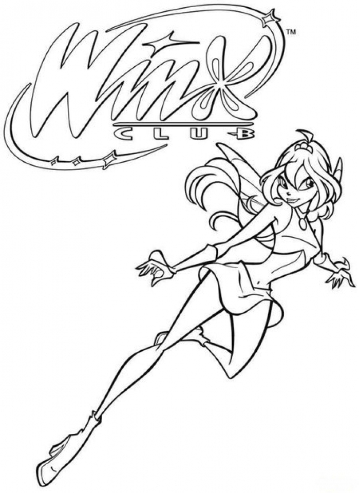 Get This Online Winx Club Coloring Pages to Print swsyq !