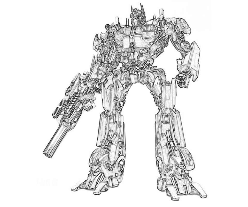 optimus prime coloring page to print online lj8rr - Optimus Prime Coloring Pages