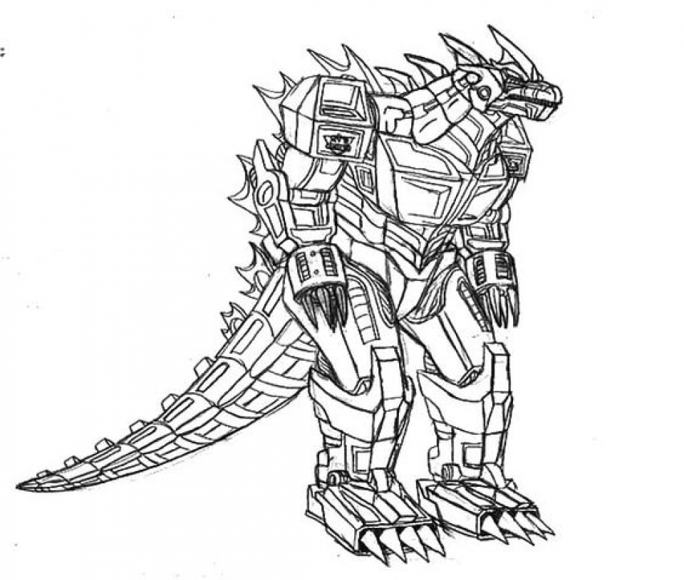 Get This Preschool Printables of Godzilla Coloring Pages Free jIk30