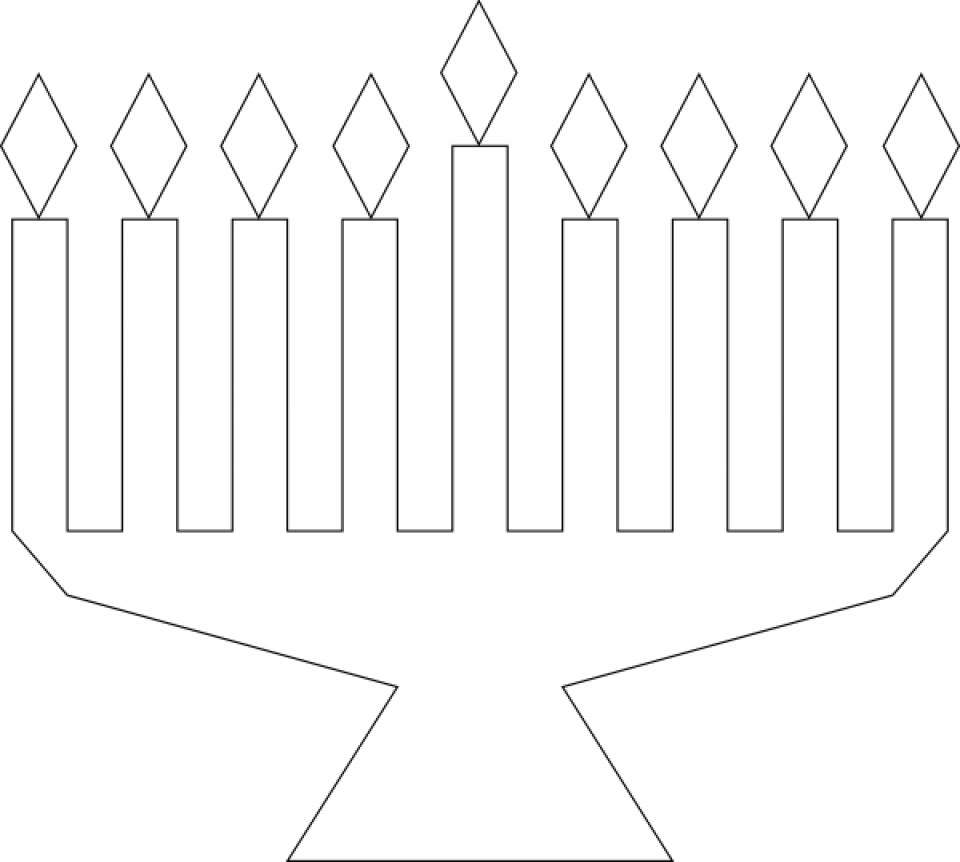 perfect preschool printables of hanukkah coloring pages
