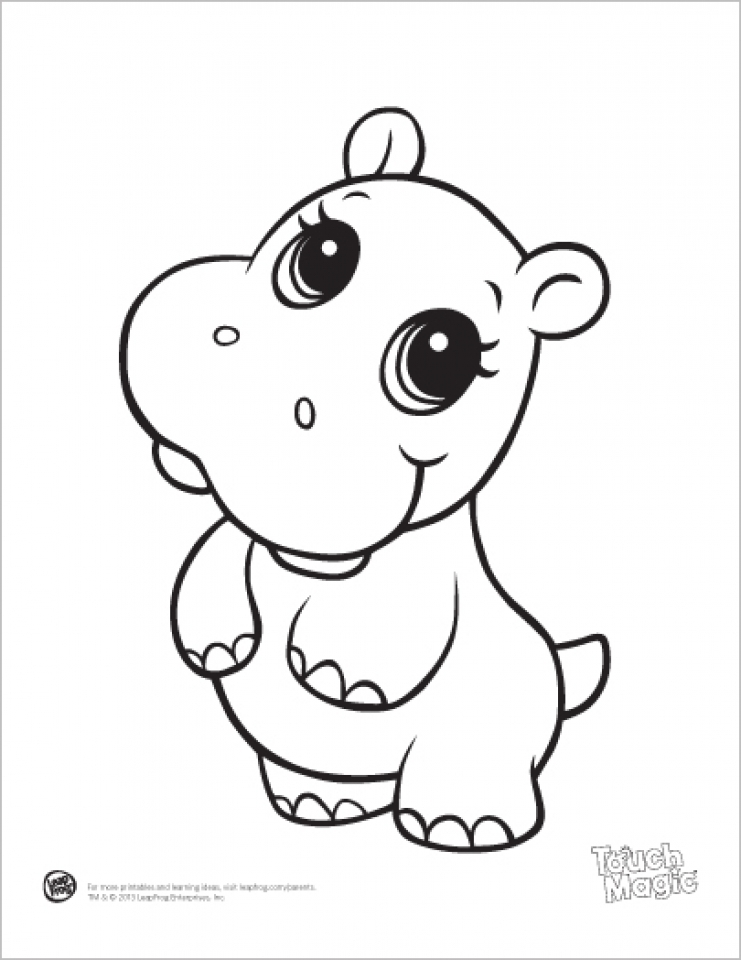 Get this printable baby animal coloring pages online 64038 for Baby animal coloring page