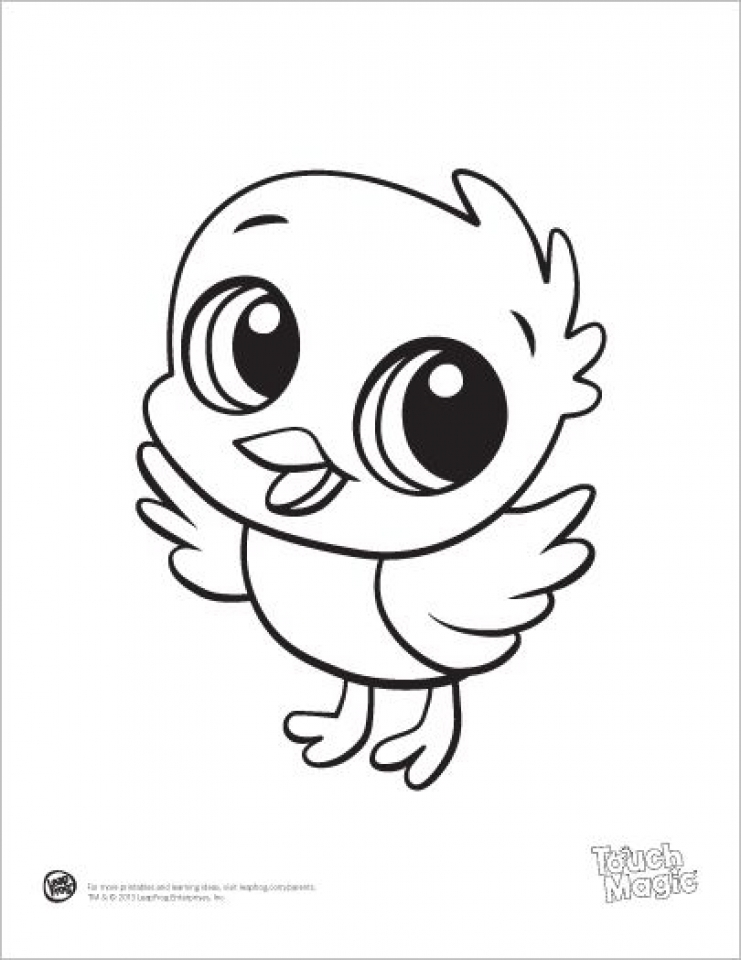 Get This Printable Baby Animal Coloring Pages Online 85256