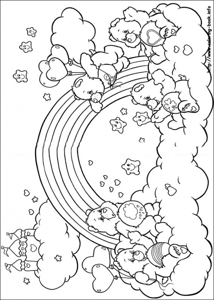 kids coloring pages on caring - photo#26