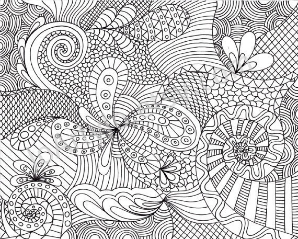 Get This Printable Grown Up Coloring