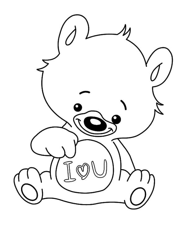 Get this printable image of i love you coloring pages t2o1m for Love you coloring pages