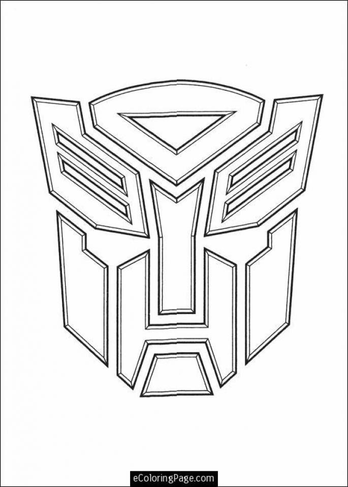 printable image of optimus prime coloring page t2o1m - Optimus Prime Face Coloring Pages
