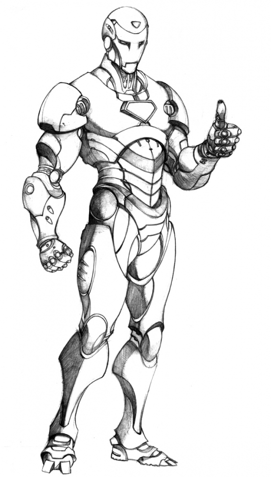 Get This Printable Ironman Coloring Pages 29255