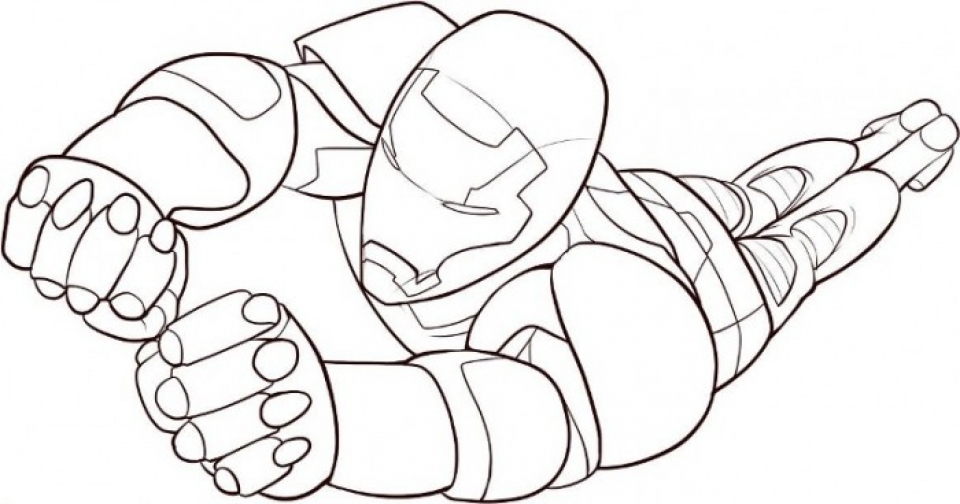 Printable Ironman Coloring Pages 41558